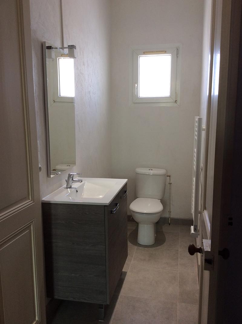 Aménagement d'une salle d'eau